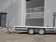 Hulco low bed trailer Terrax-2 3000